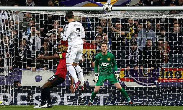 Real Madrid V Manchester United As It Happened Real Madrid