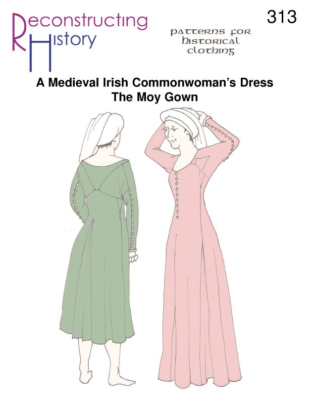 RH313 — Medieval Irish Moy Gown | Medieval, 15th century and Gowns
