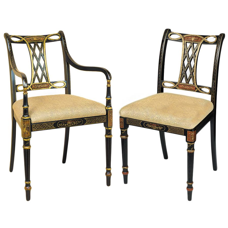 Beaufort Chairs   Scully And Scully NY