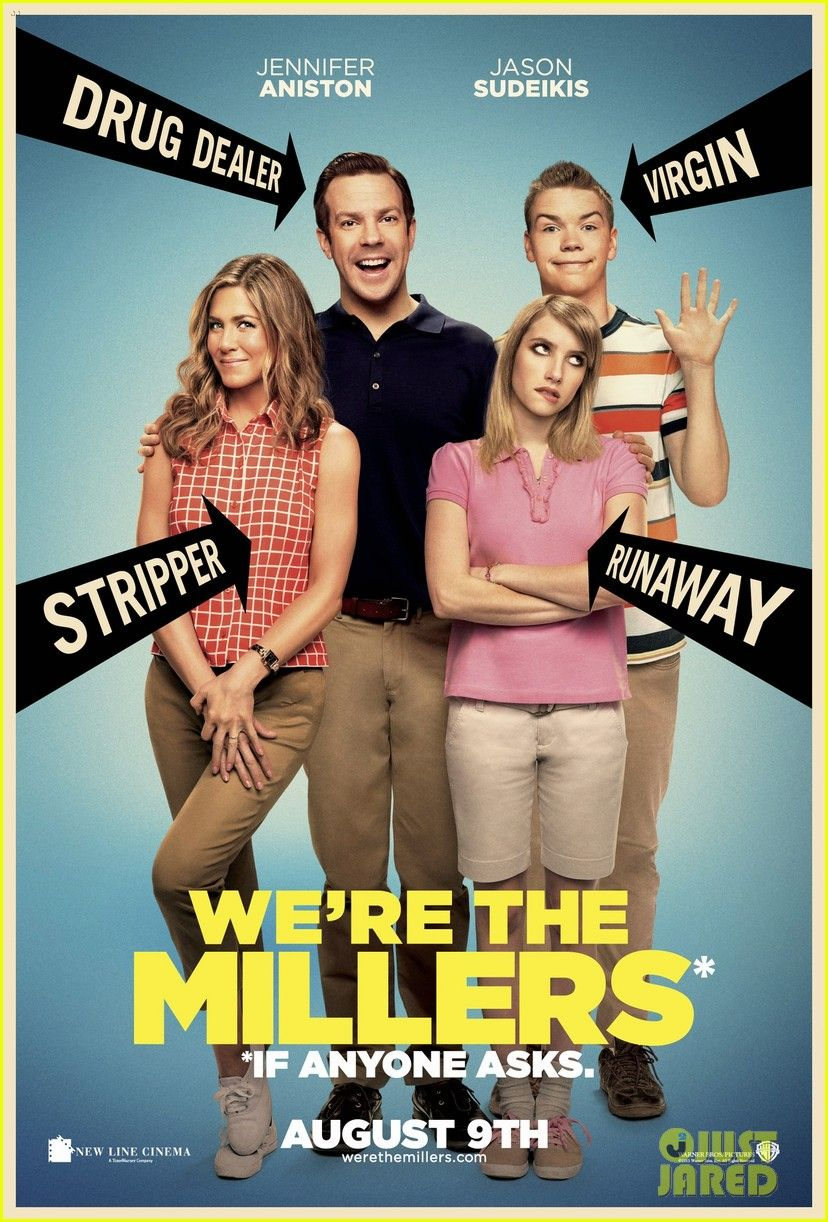 Jennifer Aniston & Jason Sudeikis: 'We're The Millers' Poster!