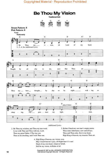 Be Thou My Vision Hymn Easy Piano Sheet Music And Free