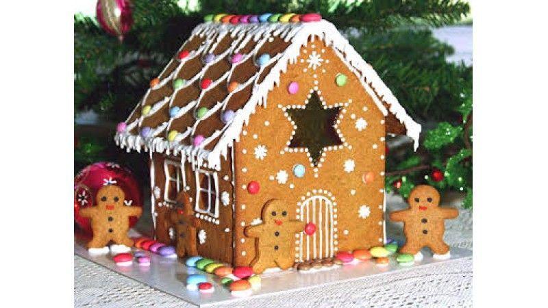 Gluten Free Gingerbread Fun gingerbreadhouse It's that