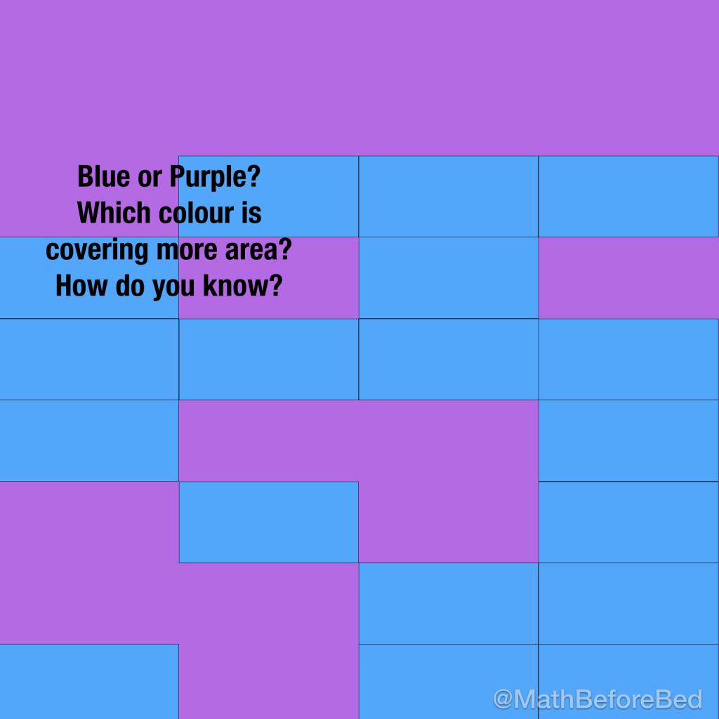 Purple Area Or Blue Area