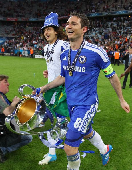 David Luiz and Frank Lampard. Champions League 2012.