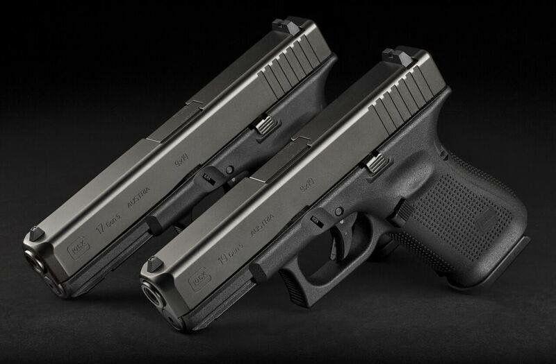 Glock 17 and Glock 19, Gen 5, 9mm's #glock #pislotaglock