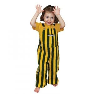 Green Bay Packers Toddler Bib Overalls - Mills Fleet Farm