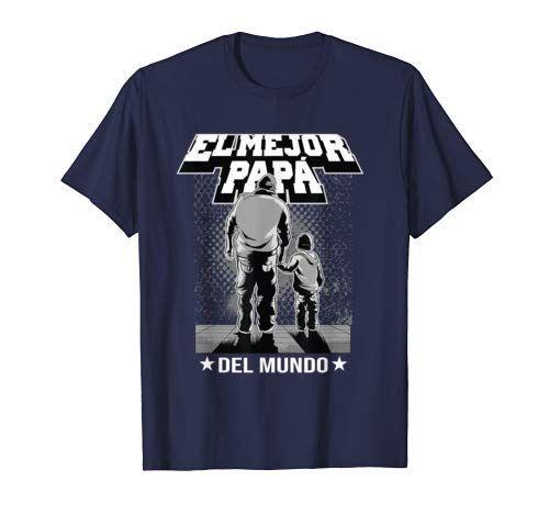 El Mejor Papa Del Mundo Camisa Del Regalo Del Dia Del Padre T-Shirt
