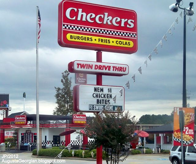 Pin By Checkers Rallys Restaurants On Around The Country Fast Food Augusta Georgia Checkers