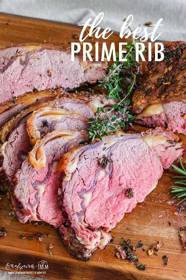 The Best Prime Rib Recipe Is Juicy Flavorful And So Easy To Make Get A Perfect Prime Rib Roast Every Tim Rib Recipes Best Prime Rib Recipe Cooking Prime Rib