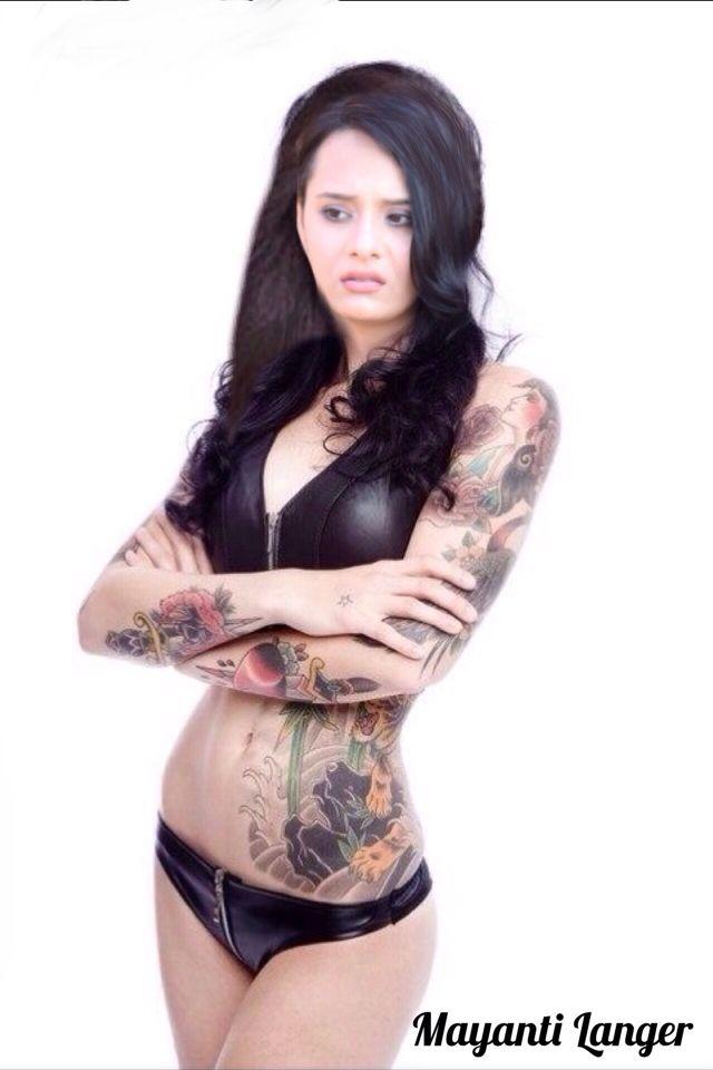 Mayanti Langer  Girl Tattoos, Inked Girls, Girls Gallery-2847