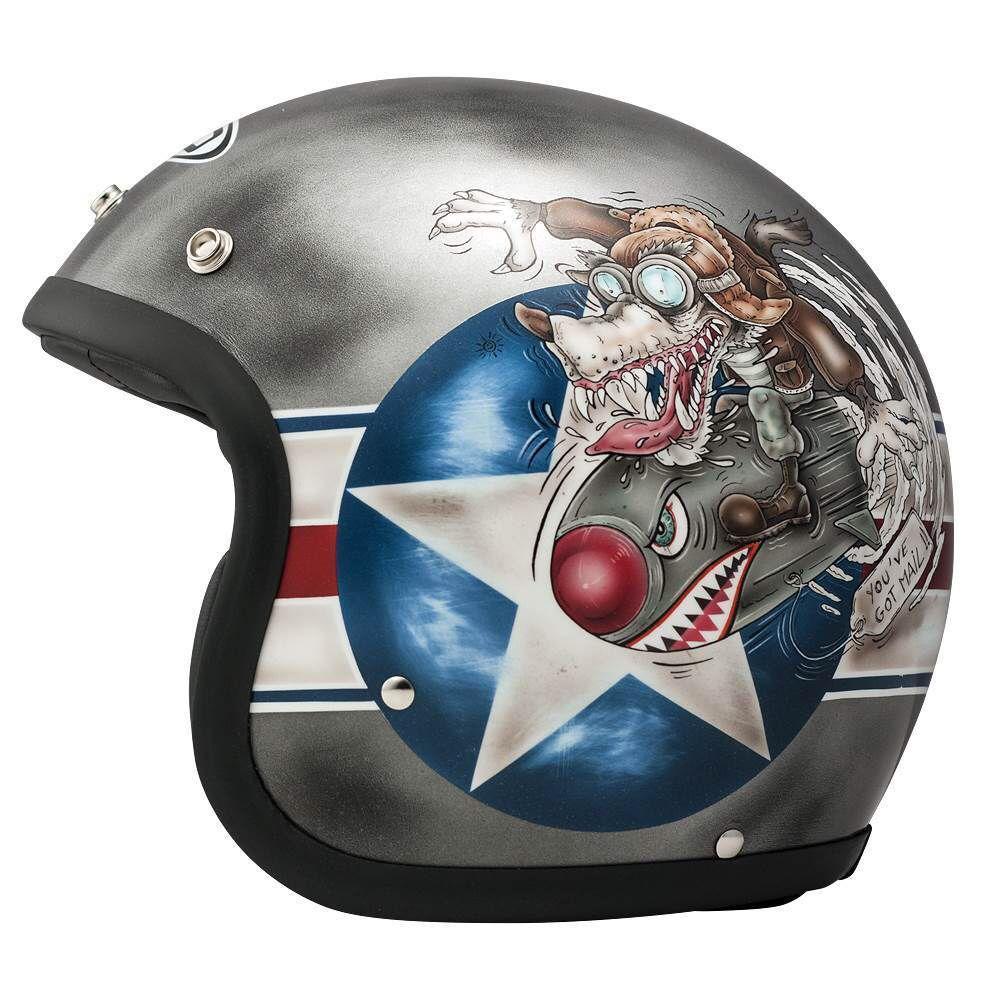 Cafe Racer Helmet Design Motorcycle Helmets Custom Vintage Motorcycles Bikes Bobbers Dmd