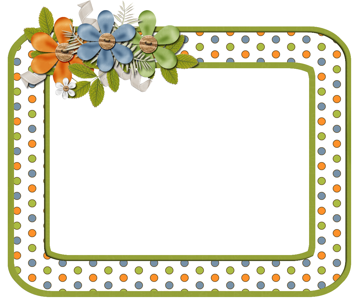 frame png scrapbook elements free orange dot digi scrapbook frame cluster frames. Black Bedroom Furniture Sets. Home Design Ideas