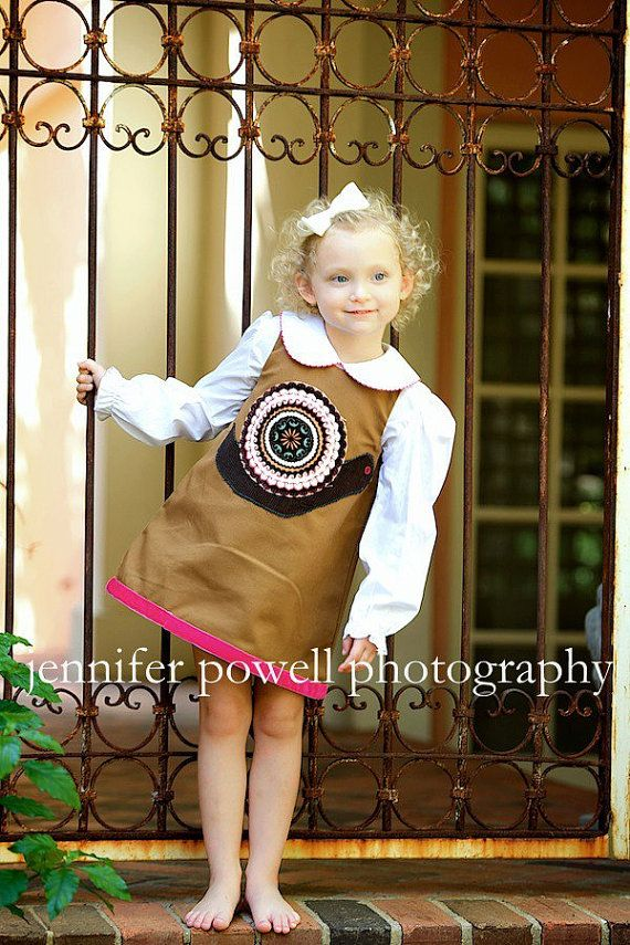 Baby/Toddler Girl's Snail Dress by ShadesApparel on Etsy, $58.00
