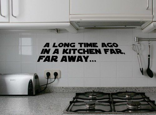 Starwars Kitchen In 2020 Star Wars Kitchen Kitchen Wall