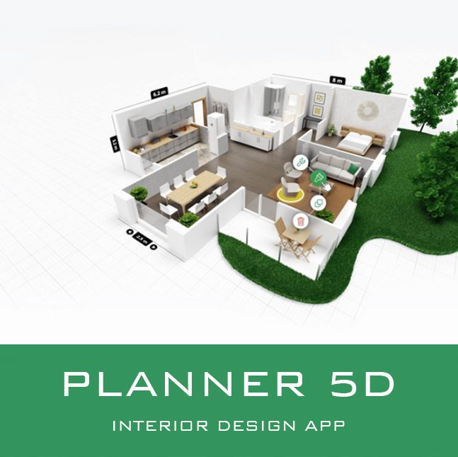 Planner 5d Interior Design App Create A Floor Plan And Interior Design In 2d 3d Visualize Your Design T Design Your Dream House Planner Design Home Planner