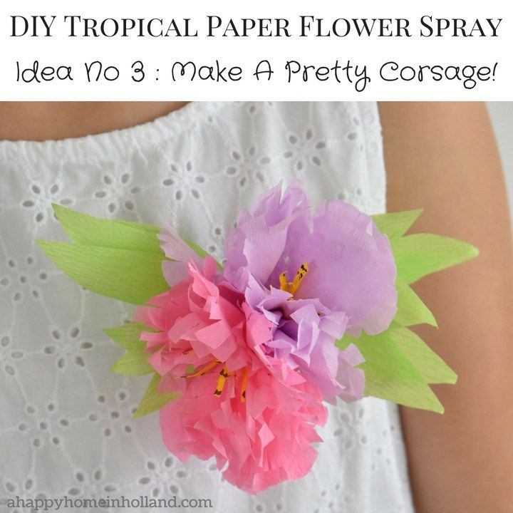 How To Make Paper Flowers Step By Step Easy Tutorial Diy