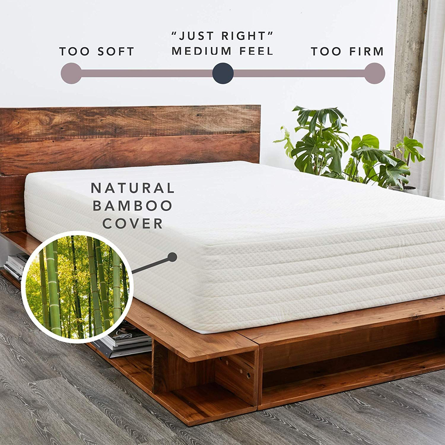 Amazon Com Brentwood Home Cypress Mattress Greenguard Gold Certipur Certified Non Toxic Soft Eco Cover Cool Gel Memory Gel Memory Foam Mattress Brentwood