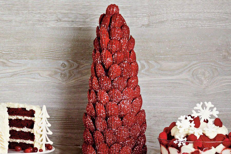 Decadent Desserts: Red Velvet Madeleines