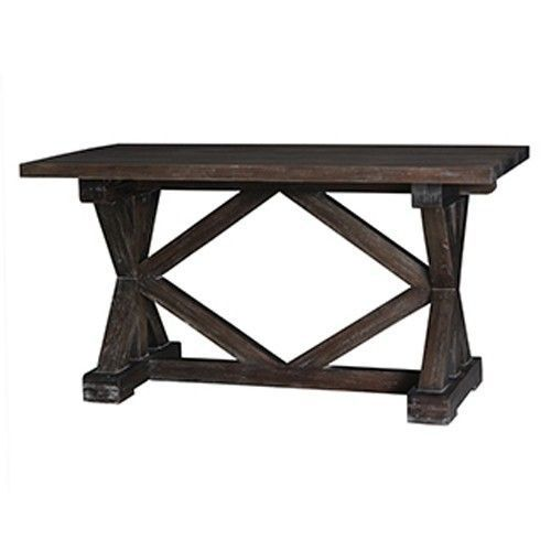 Bramble - Riverwalk Counter Height Dining Table in Black - 26059