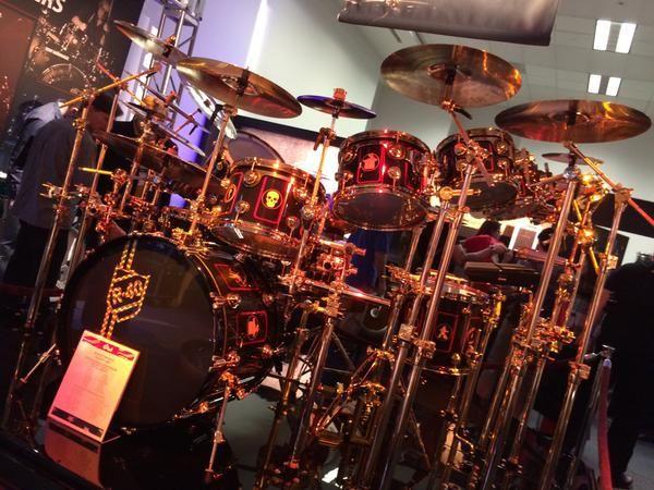 Neil Peart R40 Drum Kit