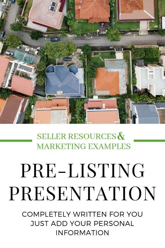PreListing Presentation PacketReal Estate Optin Guide Templates Canva Canva Real Estate Marketing Lead Magnet Real Estate Realtor