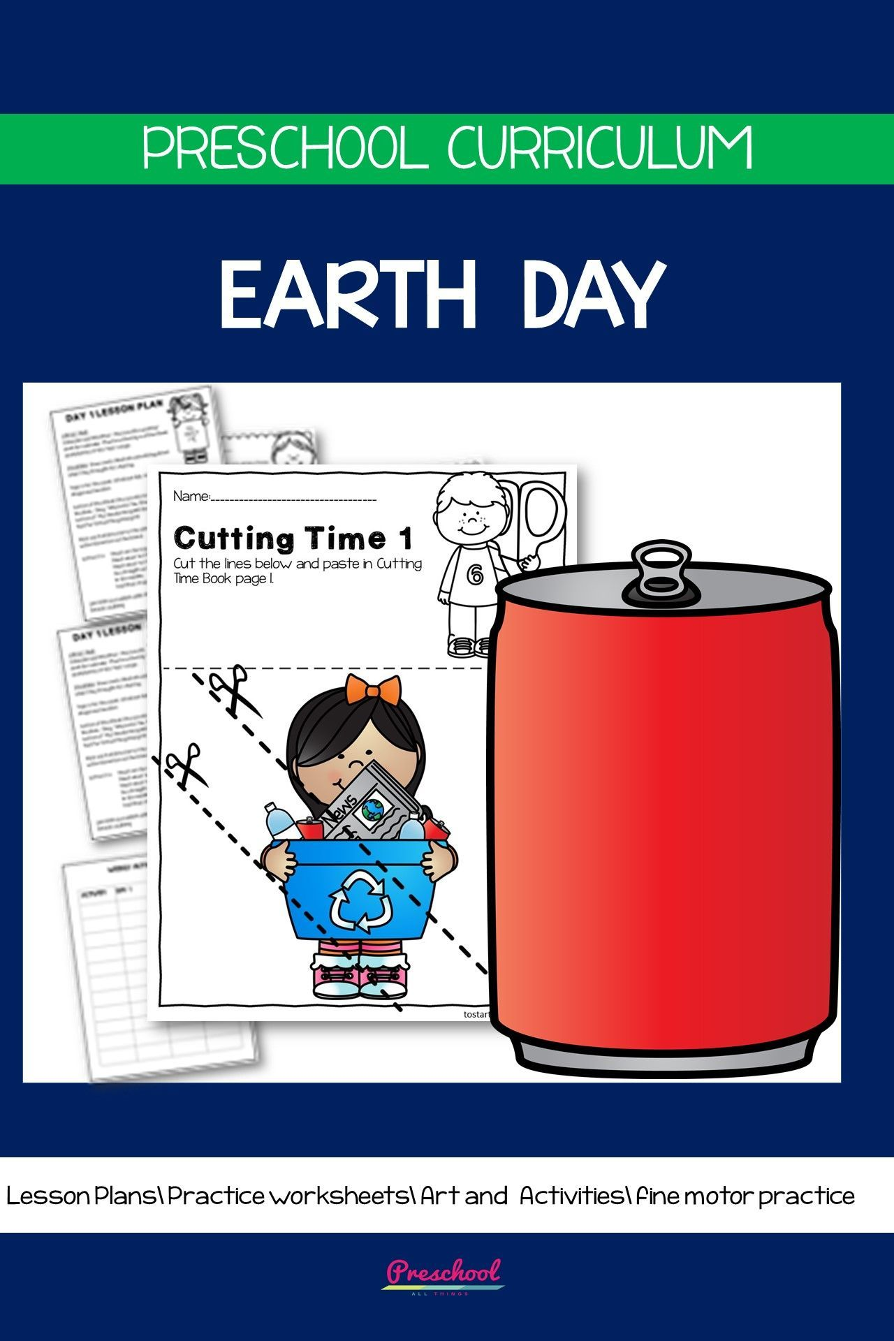 Earth Day Preschool Packet In