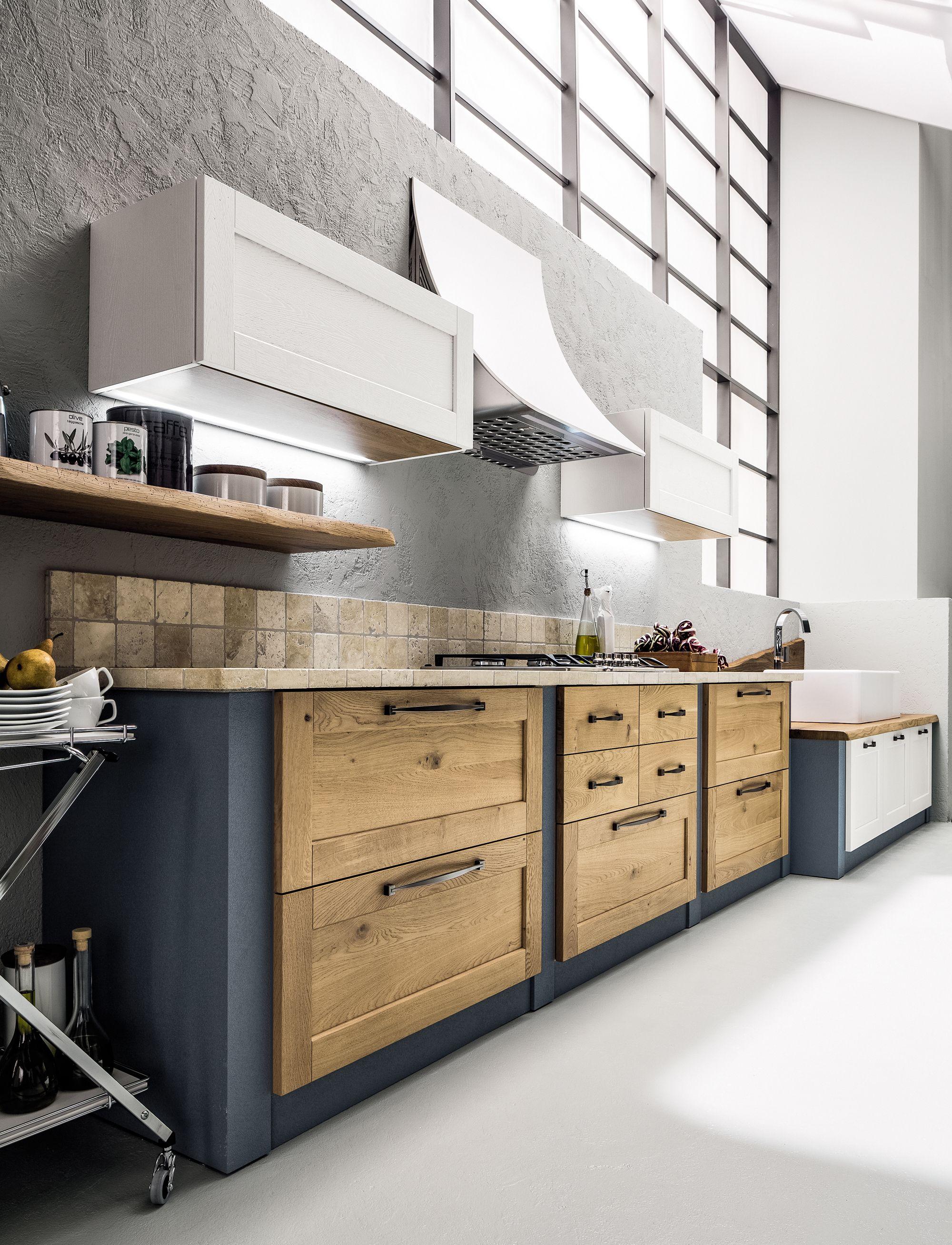 Che meraviglia le cucine arrex in muratura con pittura colore mirtillo with pittura per cucina - Pittura per cucine ...