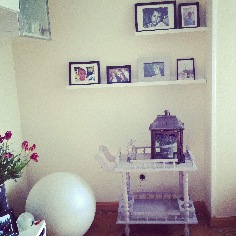 Perfecta en el salón #diy mueble bar #anniesloan paint