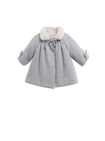 Nanos Girls Abrigo Coat