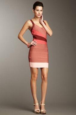 Wrap Front Bandage Dress