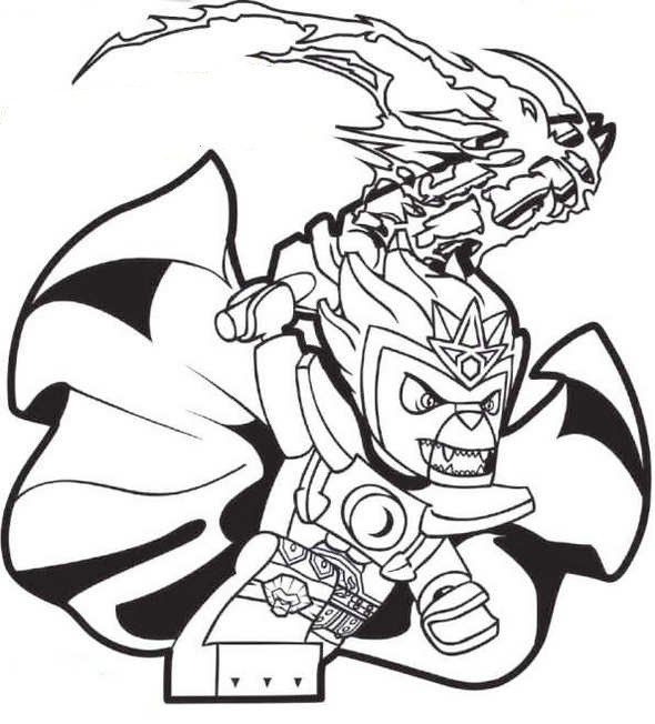Pin by MajaMørkholt on Lego Coloring Pages | Pinterest | Lego chima ...
