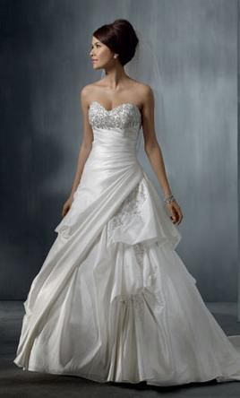 New with tags!  This Alfred Angelo 2262 is 67% off retail on PreOwnedWeddingDresses.com