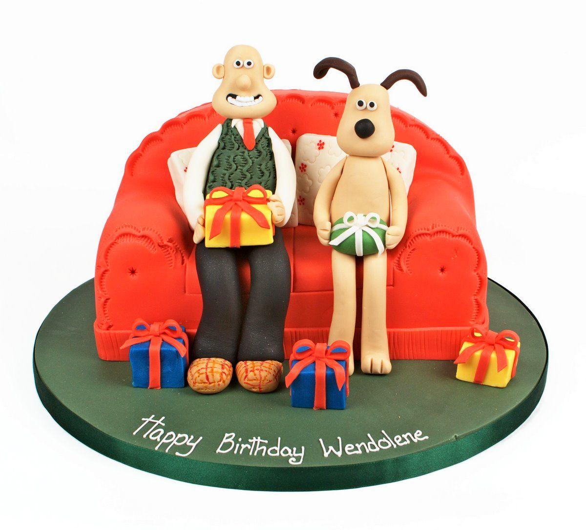 wallace and gromit wallace and gromit birthday cake