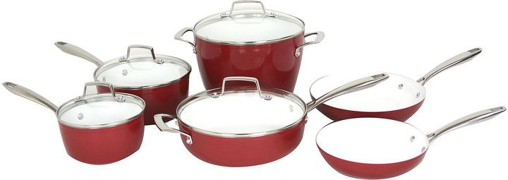 Oneida 10-pc. Forged Aluminum Cookware Set - $159.99