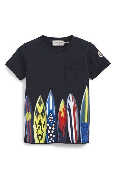 a2b146eae9ba Moncler  Maglia  Graphic T-Shirt (Little Boys) available at ...