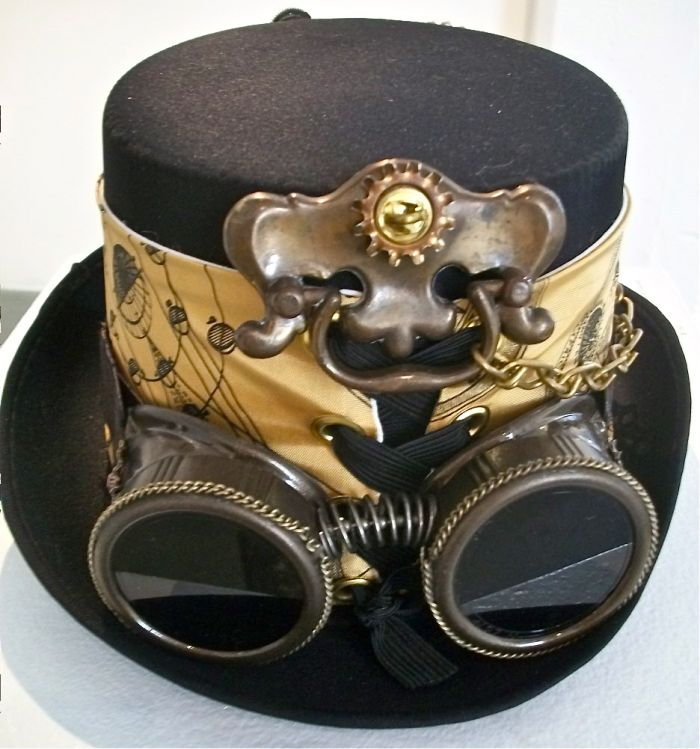 6c6ca376d2334 Wish we could go steampunk with the inventor costumes for the holiday club  - Steampunk Inventor Hat SOLD!