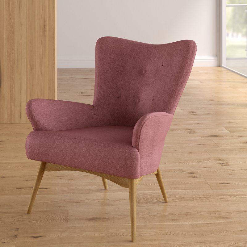 Holli Wingback Chair Chair Wingback Chair Furniture