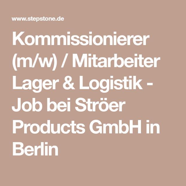 Kommissionierer (m/w) / Mitarbeiter Lager & Logistik - Job bei ...