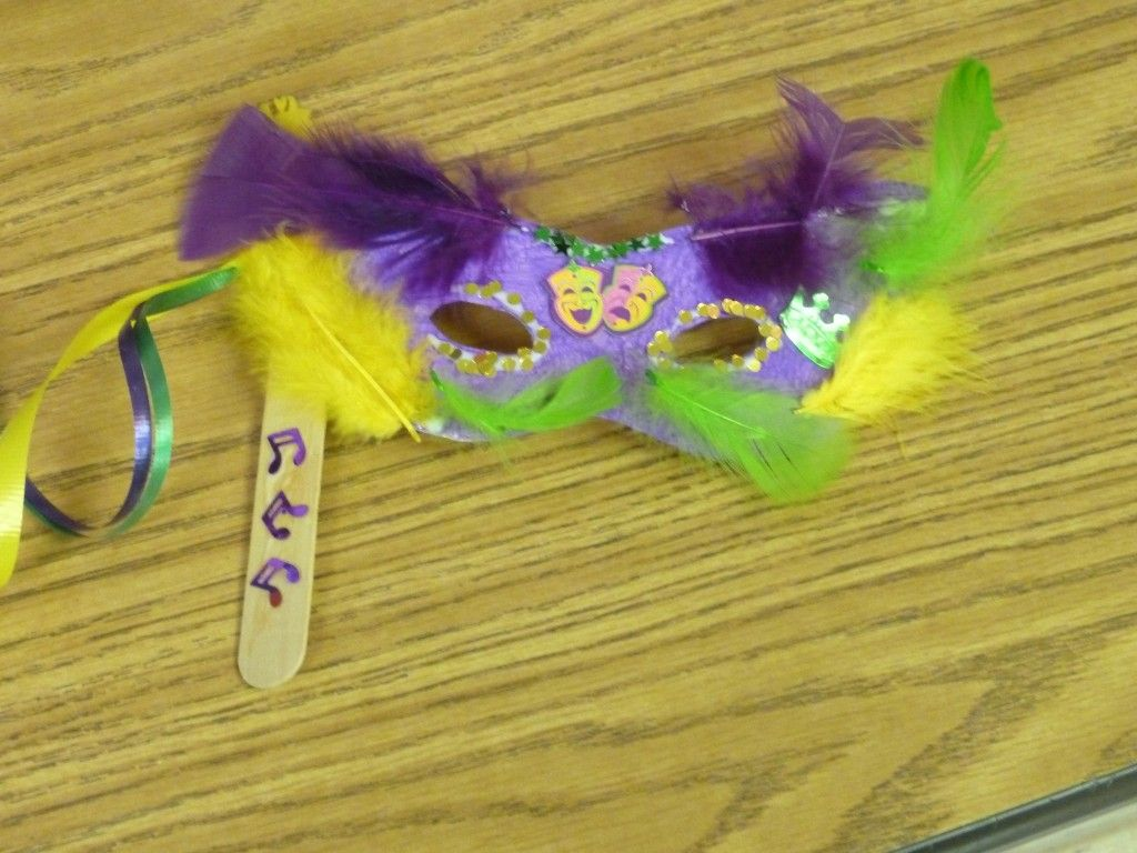 Mardi Gras Masks For Kids