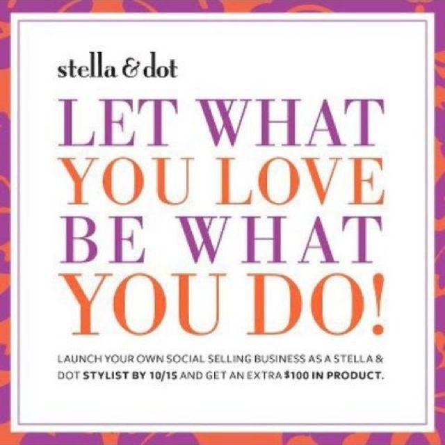 Stylist opportunity!! Stella \ Dot gives you the tools to start - livecareer sign in
