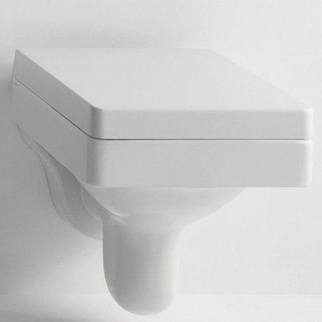 Kerasan Cento Wand-WC eckig, weiß Badezimmer Pinterest - led leisten küche