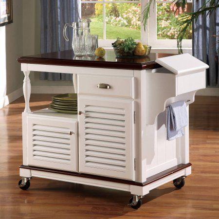 Home Kitchen Cart Wood Kitchen Island White Wood Kitchens