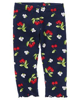 Cherry Print Legging