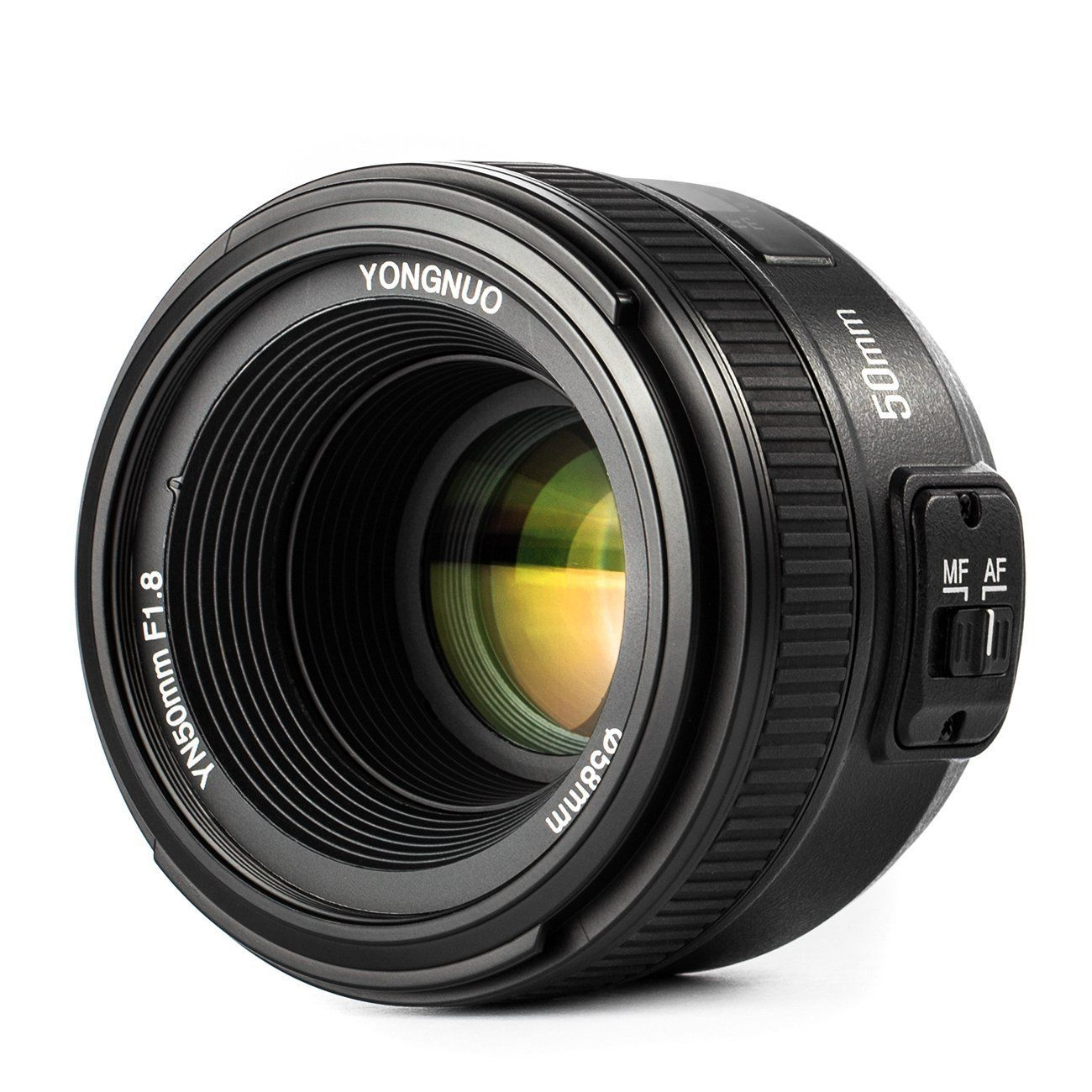 Yongnuo Objectif Yn 50 Mm F 18 Af Mf Pour Nikon Dslr Appareil Photo Meike 85mm F28 Macro Lens For