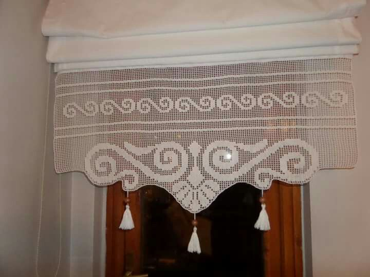 pin by patty wiles on crocheting pinterest crochet crochet curtains and filet crochet. Black Bedroom Furniture Sets. Home Design Ideas