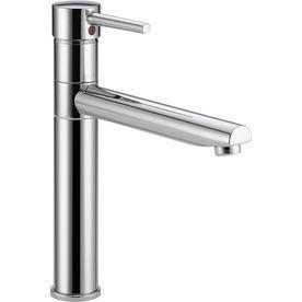 Delta Trinsic Chrome 1 Handle High Arc Kitchen Faucet