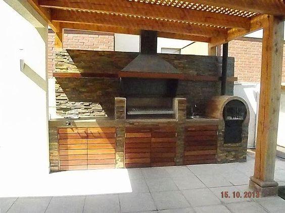 Resultado de imagen para quinchos rusticos horno - Horno lena prefabricado ...