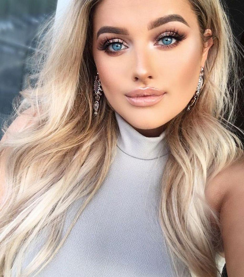 41 Lovely Makeup Tutorials Ideas For Blue Eyes