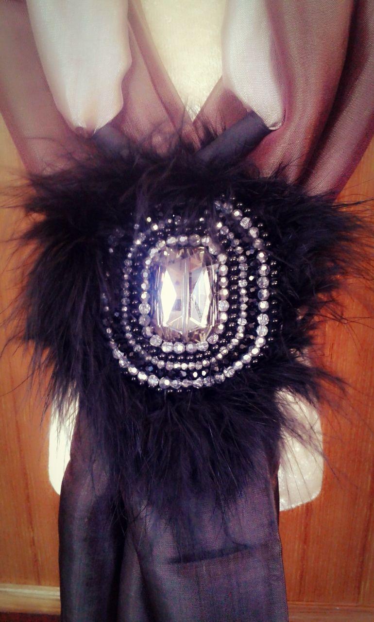Jewelry on Thai silk