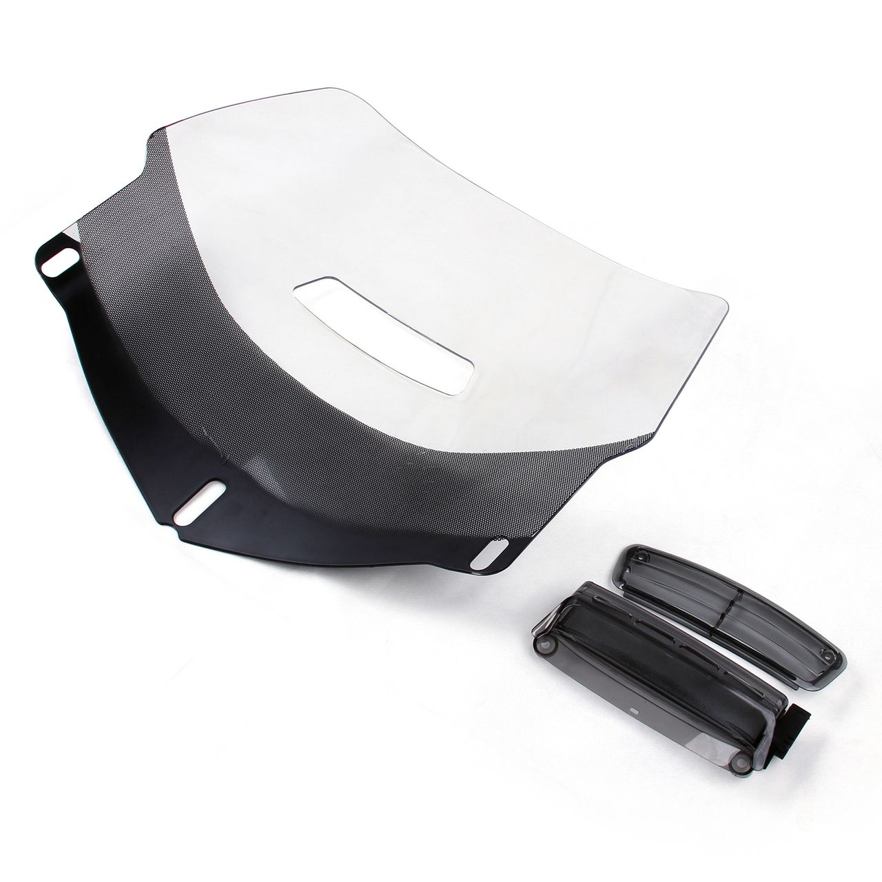 Motorcycle Windshield Windscreen Air Vent For Honda Goldwing GL1800 2001-2014